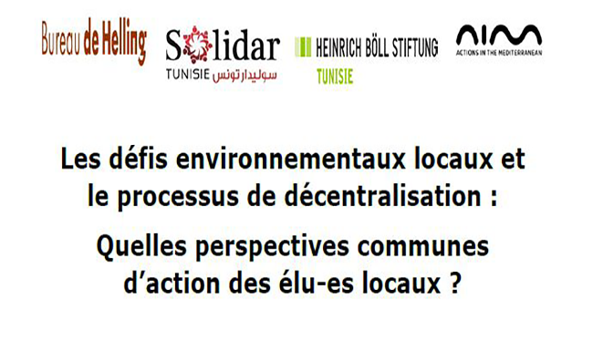 local environmental challenges and the decentralization process which common perspectives for action by local elected representatives