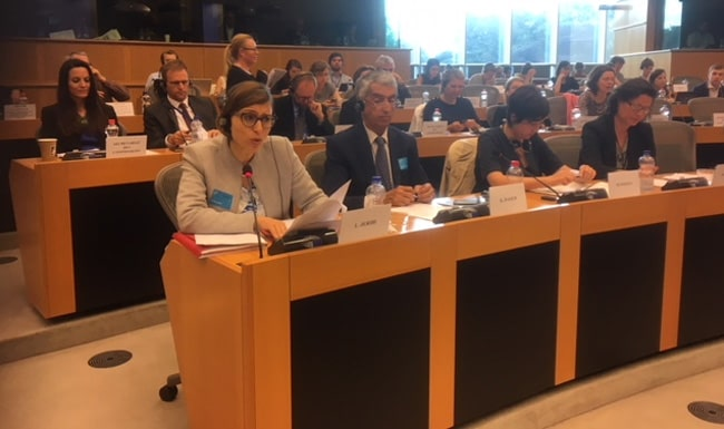 Hearing of SOLIDAR Tunisia at the INTA Committee of the European Parliament, on 21 June 2018